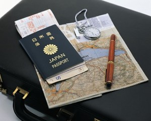 パスポート、荷物