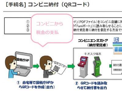 コンビニ納付・QRコード